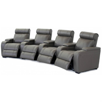 Penleigh Four-Seater Home Theatre Recliner Set