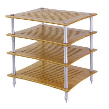 Quadraspire SVT Bamboo HiFi Rack