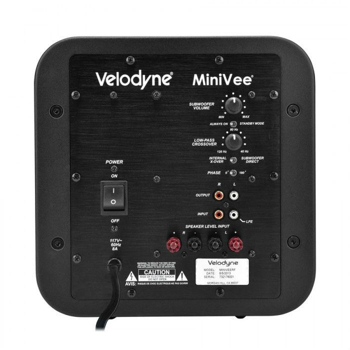 Velodyne Minivee Frank Prowse Hi Fi