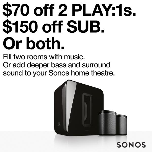 Sonos Promo June 2017